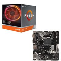 AMD Ryzen 9 3900X with Wraith Prism Cooler, ASRock B450M-HDV R4.0, CPU / Motherboard Bundle