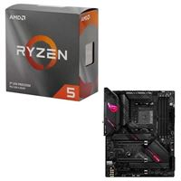 AMD Ryzen 5 3600 with Wraith Stealth Cooler, ASUS B550-E ROG Strix Gaming, CPU / Motherboard Bundle