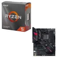 AMD Ryzen 5 3600 with Wraith Stealth Cooler, ASUS B550-F...
