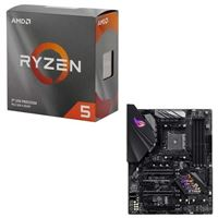 AMD Ryzen 5 3600 with Wraith Stealth Cooler, ASUS B450-F...