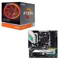 AMD Ryzen 9 3900X with Wraith Prism Cooler, ASRock B550M Steel Legend, CPU / Motherboard Bundle