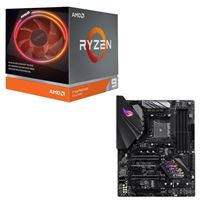 AMD Ryzen 9 3900X with Wraith Prism Cooler, ASUS B450-F ROG Strix Gaming, CPU / Motherboard Bundle