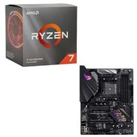 AMD Ryzen 7 3700X with Wraith Prism Cooler, ASUS B450-F ROG Strix Gaming, CPU / Motherboard Bundle