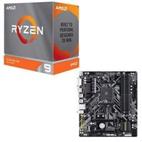 AMD Ryzen 9 3900XT, Gigabyte B450M DS3H, CPU / Motherboard Bundle