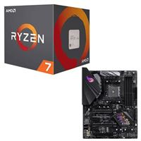 AMD Ryzen 7 3800XT, ASUS B450 F ROG Strix Gaming, CPU /...