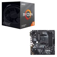 AMD Ryzen 5 3600XT with Wraith Spire Cooler, ASUS B450...