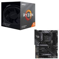 AMD Ryzen 5 3600XT with Wraith Spire Cooler, ASUS X570 ROG...