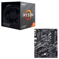 AMD Ryzen 5 3600XT with Wraith Spire Cooler, Gigabyte X570 UD, CPU / Motherboard Bundle