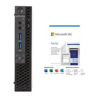 Dell OptiPlex 3070 W7XP4 bundled with Microsoft 365 Family 1 Year