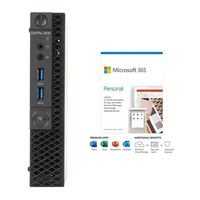 Dell OptiPlex 3070 W7XP4 bundled with Microsoft 365 Personal 1 Year