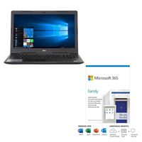 Dell Inspiron 15 3593 bundled with Microsoft 365 Family 1 Year