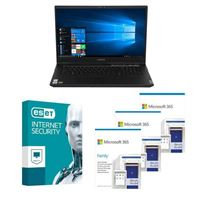 Lenovo Legion 5 17IMH05H Laptop bundled with Microsoft 365 Family 3x 1 Year and ESET Internet Security 1x 3 Years