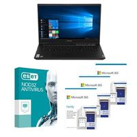 Lenovo Legion 5 17IMH05H Laptop bundled with Microsoft 365 Family 3x 1 Year and ESET NOD32 Antivirus 1x 3 Years