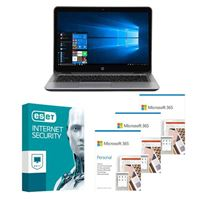 HP EliteBook 840 G3 Laptop bundled with Microsoft 365 Personal 3x 1 Year and ESET Internet Security 1x 3 Years