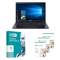 Acer Aspire 3 A315 56502L Laptop bundled with Microsoft 365 Personal 3x 1 Year and ESET NOD32 Antivirus 1x 3 Years