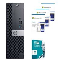Dell OptiPlex 3070 88NV2 SFF Desktop bundled with Microsoft 365 Family 3x 1 Year and ESET Internet Security 1x 3 Years