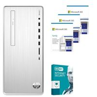 HP Pavilion 6YR68AAABA Desktop bundled with Microsoft 365 Family 3x 1 Year and ESET Internet Security 1x 3 Years