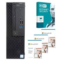 Dell OptiPlex 3070 CPJT9 SFF Desktop bundled with Microsoft 365 Personal 3x 1 Year and ESET Internet Security 1x 3 Years