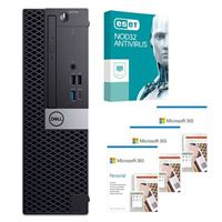 Dell OptiPlex 3070 88NV2 SFF Desktop bundled with Microsoft 365 Personal 3x 1 Year and ESET NOD32 Antivirus 1x 3 Years