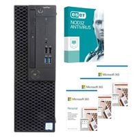 Dell OptiPlex 3070 CPJT9 SFF Desktop bundled with Microsoft 365 Personal 3x 1 Year and ESET NOD32 Antivirus 1x 3 Years