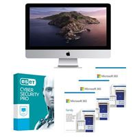 Apple iMac MHK33LLA Desktop bundled with Microsoft 365 Family 3x 1 Year and ESET Cyber Security Pro 1x 3 Years