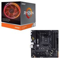 AMD Ryzen 9 3900X with Wraith Prism Cooler, ASUS B550M-PLUS...