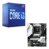 Intel Core i3-10100, ASUS Z490A Prime, CPU / Motherboard Bundle