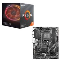 AMD Ryzen 7 3800X with Wraith Prism Cooler, MSI B450...