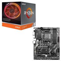 AMD Ryzen 9 3900X with Wraith Prism Cooler, MSI B450 Tomahawk Max, CPU / Motherboard Bundle