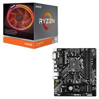 AMD Ryzen 9 3900X with Wraith Prism Cooler, Gigabyte B450M...