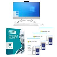 HP 9EF17AA All-in-one bundled with Microsoft 365 Family 3x 1 Year and ESET Internet Security 1x 3 Years