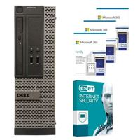 Dell OptiPlex 3020 SFF Refurbished Desktop bundled with Microsoft 365 Family 3x 1 Year and ESET Internet Security 1x 3 Years