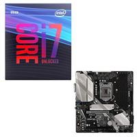 Intel Core i7-9700K, ASRock B365M PRO4, CPU / Motherboard Bundle