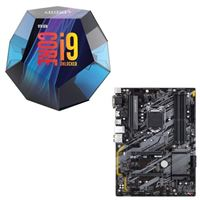 Intel Core i9-9900K, Gigabyte B365 HD3, CPU / Motherboard Bundle