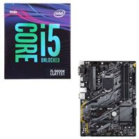 Intel Core i5-9600K, Gigabyte B365 HD3, CPU / Motherboard Bundle