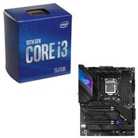 Intel Core i3-10100, ASUS Z590-E ROG Strix Gaming WiFi, CPU / Motherboard Bundle
