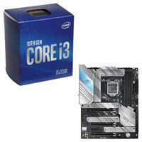 Intel Core i3-10100, ASUS Z590-A ROG Strix Gaming WiFi, CPU / Motherboard Bundle