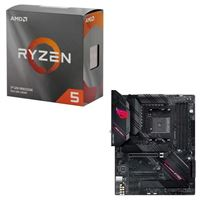 AMD Ryzen 5 3600 with Wraith Stealth Cooler, ASUS B550-F ROG Strix Gaming WiFi, CPU / Motherboard Bundle