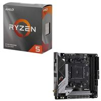 AMD Ryzen 5 3600 with Wraith Stealth Cooler, ASRock B550 Phantom Gaming, CPU / Motherboard Bundle
