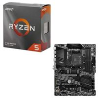 AMD Ryzen 5 3600 with Wraith Stealth Cooler, MSI B550-A Pro, CPU / Motherboard Bundle