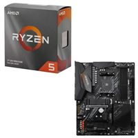 AMD Ryzen 5 3600 with Wraith Stealth Cooler, Gigabyte B550 AORUS ELITE V2, CPU / Motherboard Bundle