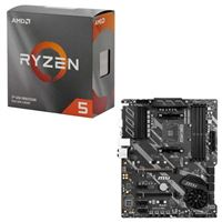 AMD Ryzen 5 3600 with Wraith Stealth Cooler, MSI X570-A Pro, CPU / Motherboard Bundle