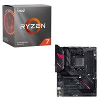 AMD Ryzen 7 3700X with Wraith Prism Cooler, ASUS B550-F ROG...
