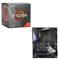 AMD Ryzen 7 3700X with Wraith Prism Cooler, Gigabyte B550...