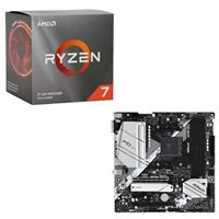 AMD Ryzen 7 3700X with Wraith Prism Cooler, ASRock B550M Pro4, CPU / Motherboard Bundle