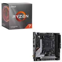 AMD Ryzen 7 3700X with Wraith Prism Cooler, ASRock B550 Phantom Gaming, CPU / Motherboard Bundle