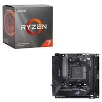 AMD Ryzen 7 3700X with Wraith Prism Cooler, ASUS B550-I ROG...