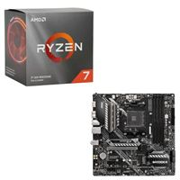AMD Ryzen 7 3700X with Wraith Prism Cooler, MSI B550M MAG Bazooka, CPU / Motherboard Bundle