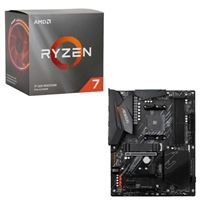 AMD Ryzen 7 3700X with Wraith Prism Cooler, Gigabyte B550 AORUS ELITE V2, CPU / Motherboard Bundle