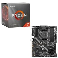 AMD Ryzen 7 3700X with Wraith Prism Cooler, MSI X570-A Pro, CPU / Motherboard Bundle